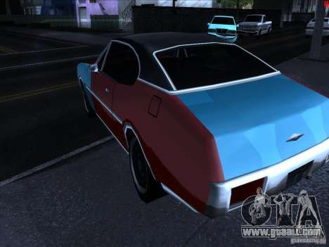 Brighter colors for cars for GTA San Andreas forth screenshot