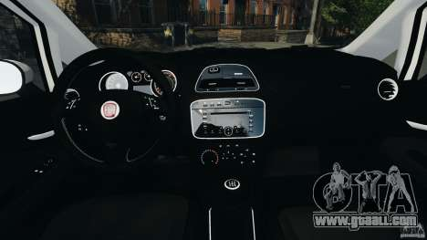 Fiat Punto Evo Sport 2012 v1.0 [RIV] for GTA 4 back view