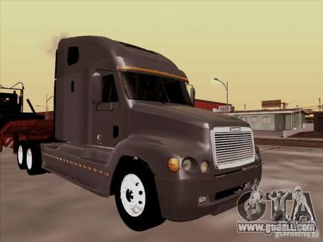 Freightliner Century ST for GTA San Andreas left view
