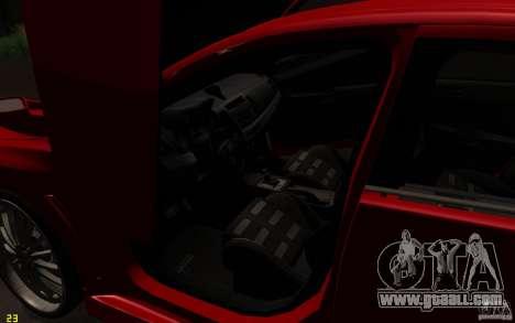 Mitsubishi Lancer EVO X drift Tune for GTA San Andreas side view