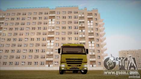 KAMAZ 5460 Restyling for GTA San Andreas right view