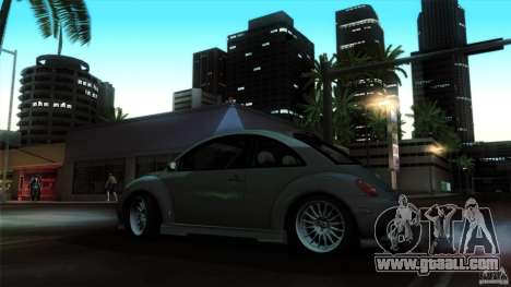 Volkswagen Beetle RSi Tuned for GTA San Andreas inner view