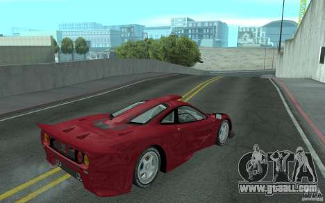 Mclaren F1 GT (v1.0.0) for GTA San Andreas right view