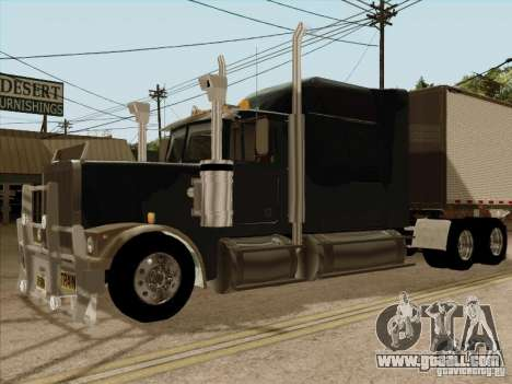 Western Star 4900 Aust for GTA San Andreas right view