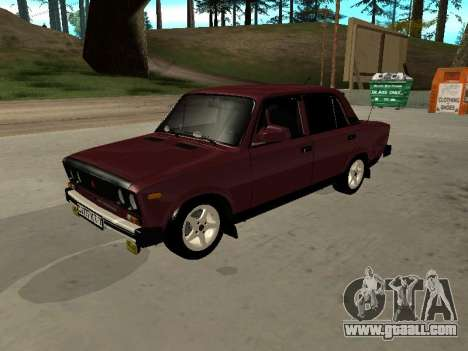 21065 VAZ v2.0 for GTA San Andreas back view