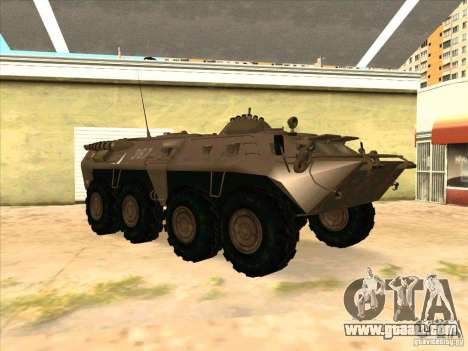 BTR-80 for GTA San Andreas