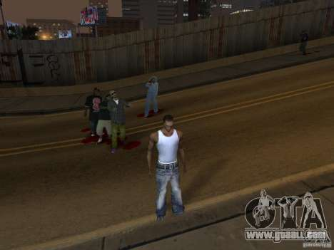 The Walking Dead for GTA San Andreas third screenshot