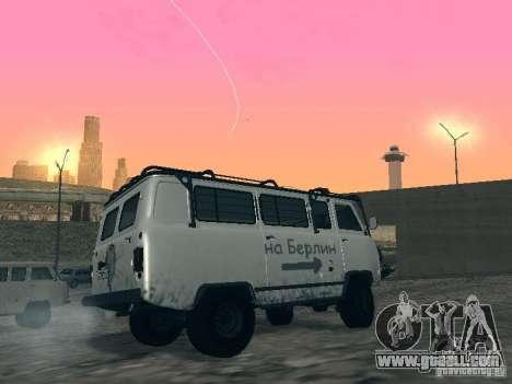UAZ 2206 for GTA San Andreas upper view