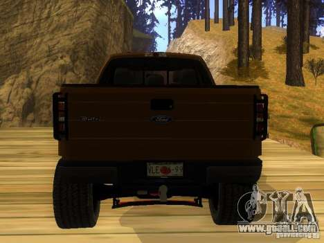 Ford F-150 Sargento Federal Edition for GTA San Andreas left view