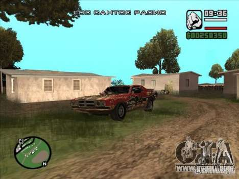 FlatOut bullet for GTA San Andreas left view