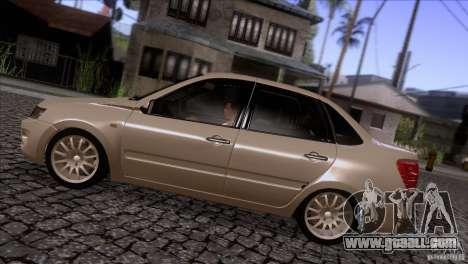 VAZ 2190 Granta for GTA San Andreas left view