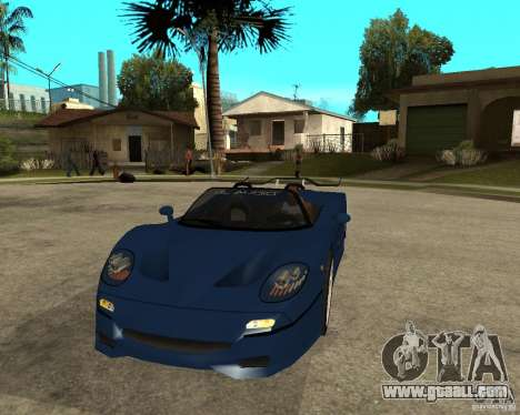 Ferrari F50 - special tuning by JvtDeSiGn for GTA San Andreas back view