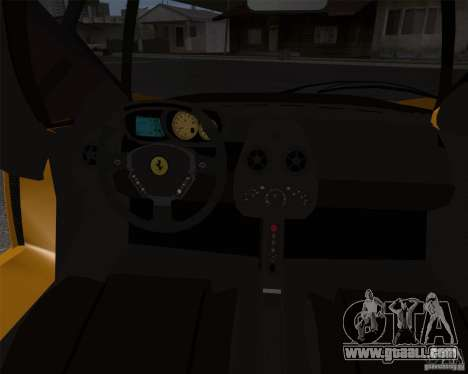 Ferrari Enzo for GTA San Andreas side view