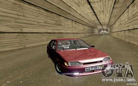 ВАЗ 2114 Quality for GTA San Andreas interior