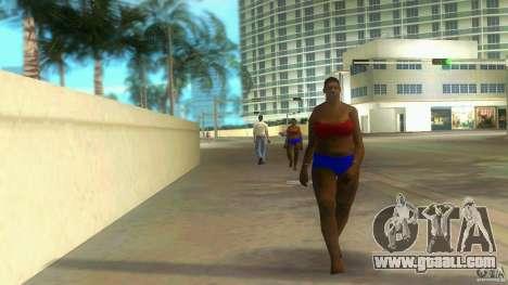 Big Lady Cop Mod 2 for GTA Vice City