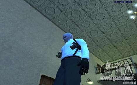 Agent 47 for GTA San Andreas second screenshot