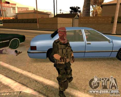 Skin dušmana from COD4 for GTA San Andreas second screenshot