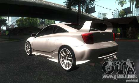 Toyota Celica-SS2 Tuning v1.1 for GTA San Andreas right view