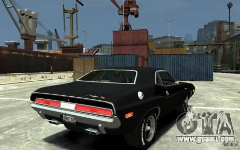 Dodge Challenger R/T Hemi 1970 for GTA 4 right view