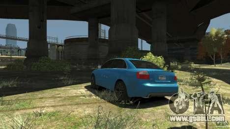Audi S4 2000 for GTA 4 back left view