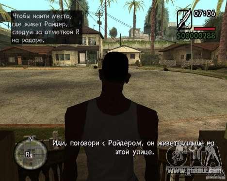 NewFontsSA 2012 for GTA San Andreas seventh screenshot