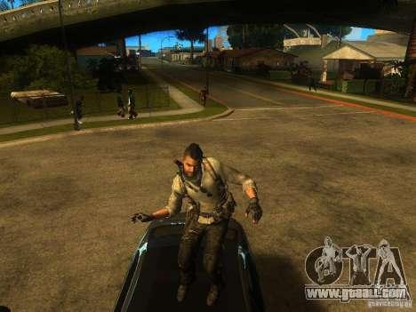Animation Mod for GTA San Andreas fifth screenshot
