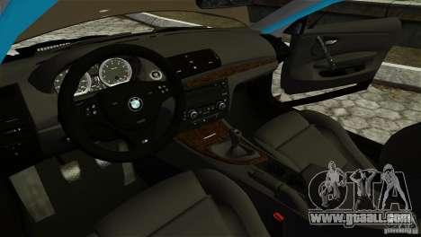 BMW 135i HellaFush for GTA 4 side view