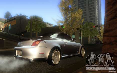 Lexus SC430 for GTA San Andreas right view