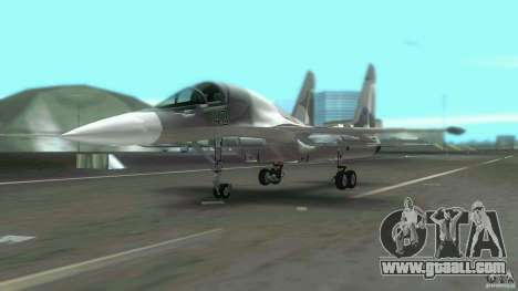 VC Air Force for GTA Vice City right view