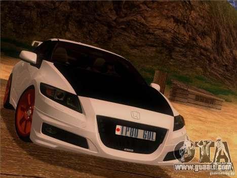 Honda CR-Z Mugen 2011 V2.0 for GTA San Andreas inner view