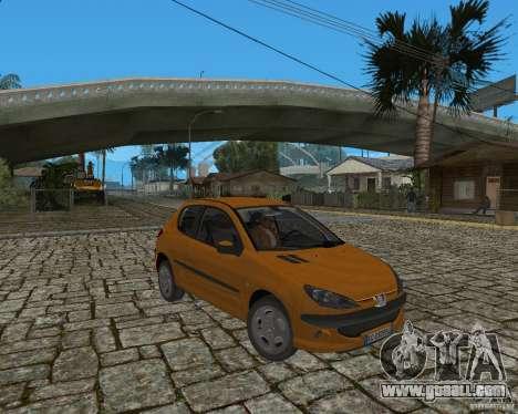 Peugeot 306 for GTA San Andreas