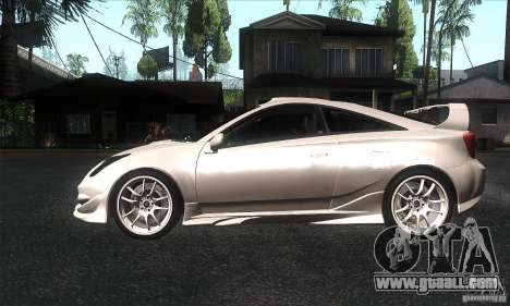 Toyota Celica-SS2 Tuning v1.1 for GTA San Andreas left view