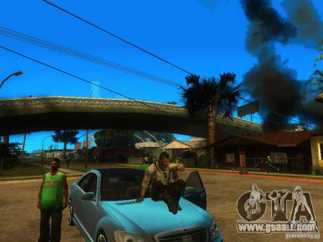 Animation Mod for GTA San Andreas third screenshot