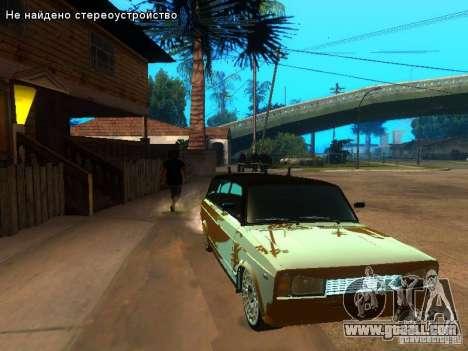 VAZ 2104 tuning for GTA San Andreas