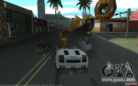 Realistic accident for GTA San Andreas forth screenshot
