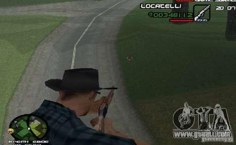 New HUD  v.2 for GTA San Andreas second screenshot