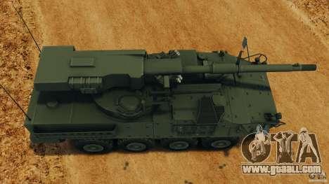 Stryker M1128 Mobile Gun System v1.0 for GTA 4 right view