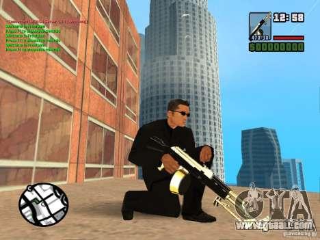 Gun Pack by MrWexler666 for GTA San Andreas forth screenshot