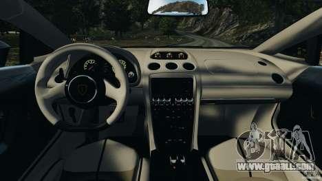 Lamborghini Gallardo LP570-4 Spyder Performante for GTA 4 back view