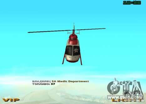 New Maverick for GTA San Andreas right view