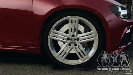 Volkswagen Scirocco R v1.0 for GTA 4 back view