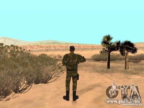 Soviet Commando for GTA San Andreas third screenshot