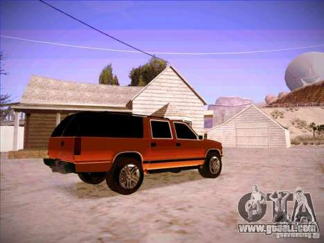 Chevrolet Suburban 1998 for GTA San Andreas right view