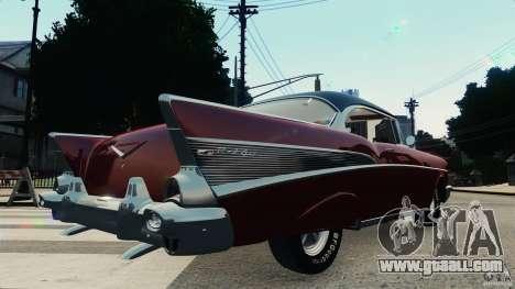 Chevrolet Bel Air Hardtop 1957 Light Tun for GTA 4 right view