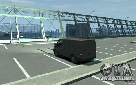 Ford Transit 2011 for GTA 4 back left view
