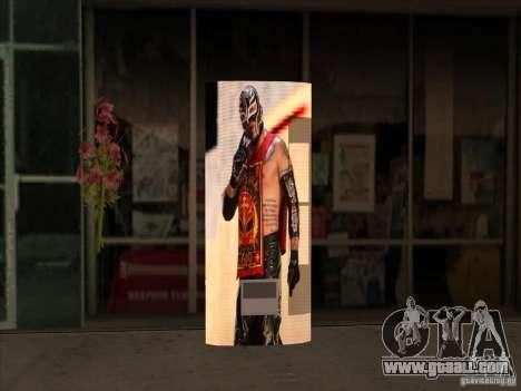 Soda pop Ray Mysterio for GTA San Andreas