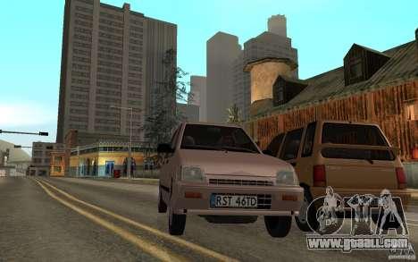 Daewoo Tico SX for GTA San Andreas inner view