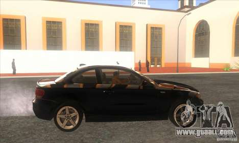 BMW 135i (E82) for GTA San Andreas left view