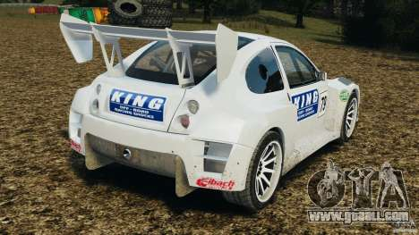 Colin McRae KING Rallycross for GTA 4 back left view