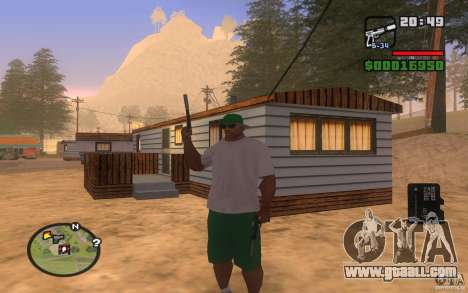 Double weapons for GTA San Andreas forth screenshot